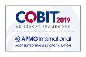 Cobit 2019 Accredited Logo APMG