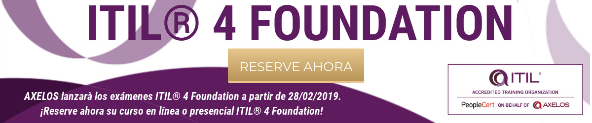 Banner ITIL 4 Foundation ESP1