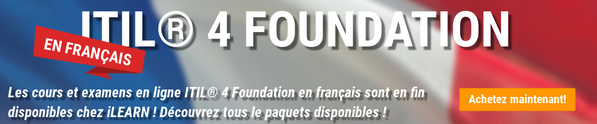 ITIL 4 Foundation disponibile FRA