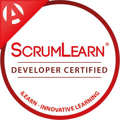 ScrumLearn Master Certified Digital Badge