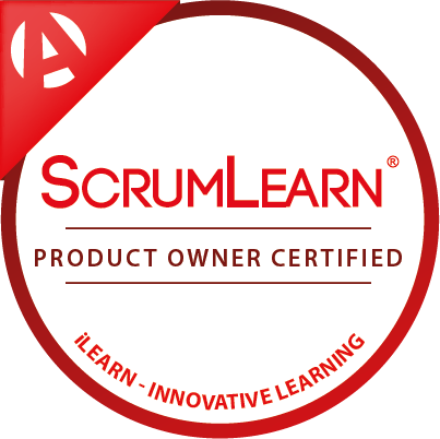 ScrumLearn Product Owner Digital Badge