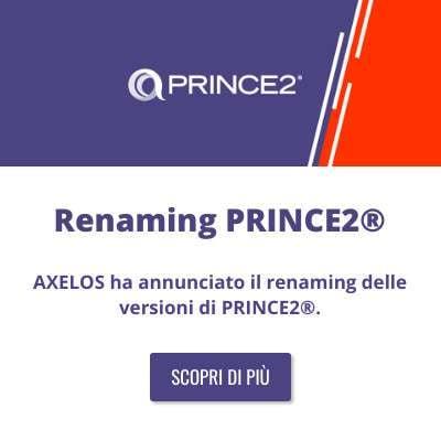 Renaming PRINCE2®