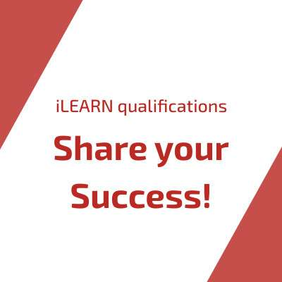 Boost visibility of your success with iLEARN Successful Candidate Register and Digital Badge now available for iLEARN Qualifications