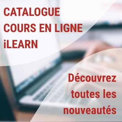 iLEARN à mis à jour sont catalogue des cours en ligne