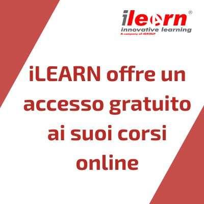 Accesso gratuito ai corsi iLEARN