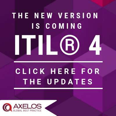 AXELOS® announces the update to ITIL® 4