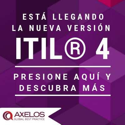 AXELOS® anuncia su actualización ITIL® 4