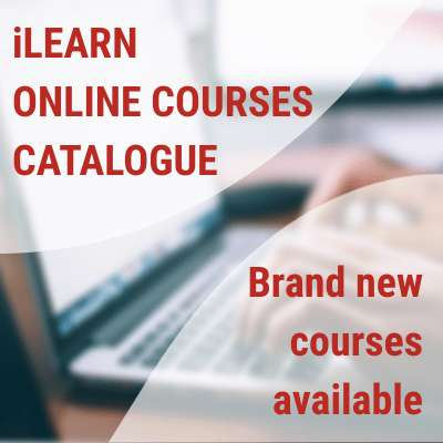 iLEARN updated its online course catalogue