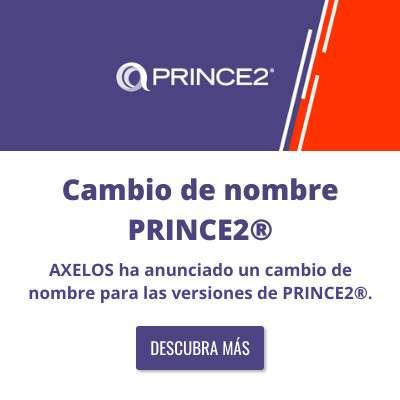 Cambio de nombre PRINCE2®