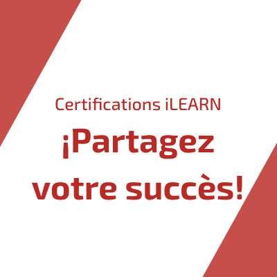 Augmentez la visibilité de votre succès avec le Successful Candidate Register et les Badges numériques de iLEARN maintenant disponibles pour les Certifications iLEARN