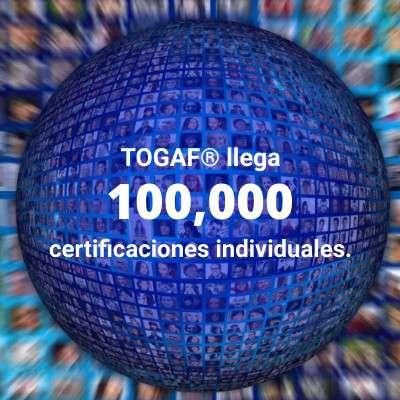 ¡TOGAF® 9 ha llegado a la meta de 100 mil certificados!