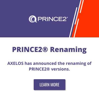PRINCE2® Renaming