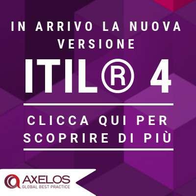 AXELOS®  annuncia l'aggiornamento ITIL®  4