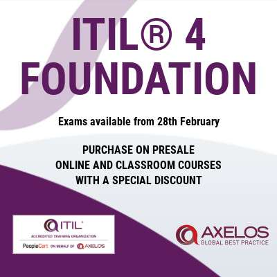 ITIL® 4 Foundation has arrived!