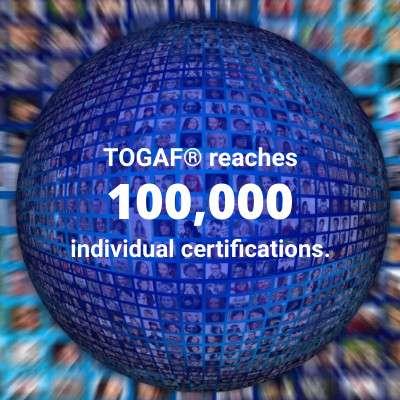 TOGAF® 9 Certification passes 100,000 milestone!