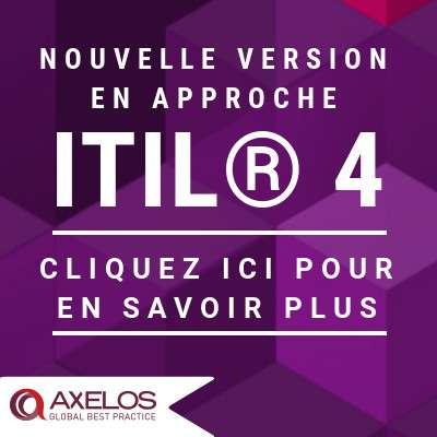 AXELOS® annonce la mise à jour de ITIL® 4